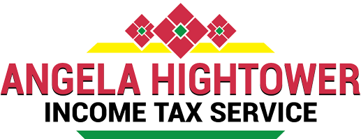 Angela Hightower Income Tax Service Logo